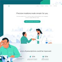 Odnostranichnyj-medicinskij-sajt-landing-page
